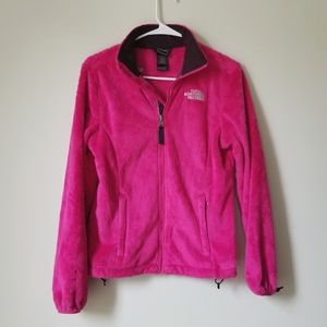 The North Face Fluffy Warm Soft Zip Up Jacket